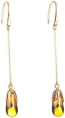 Pomellato 18K Rose Gold Citrine Drop Earrings