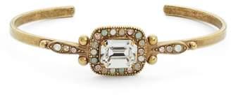Sorrelli Opulent Octagon Crystal Cuff Bracelet