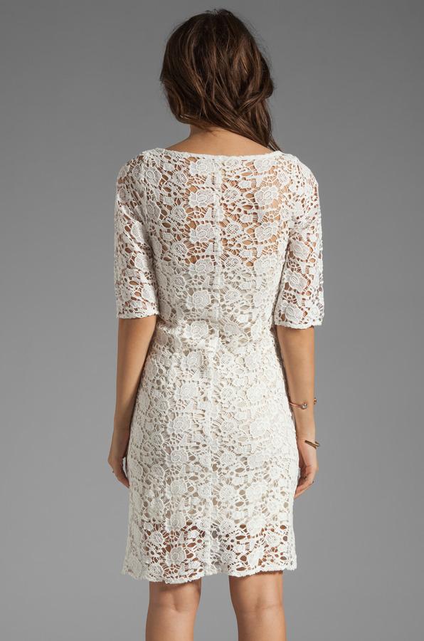 Velvet by Graham & Spencer x Lily Aldridge Lily Crochet Lace Dress