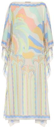 Emilio Pucci Beach Printed cotton kaftan