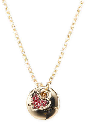 Marc by Marc Jacobs Jewelry Mj Coin Necklace