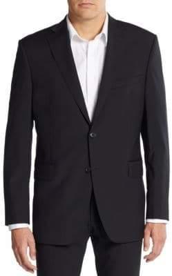 Saks Fifth Avenue Slim-Fit Wool Blazer