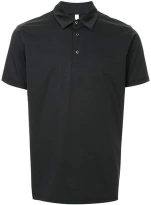 Attachment short-sleeve polo shirt