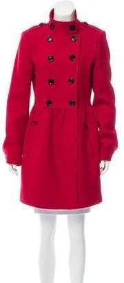 Burberry Virgin Wool-Blend Coat