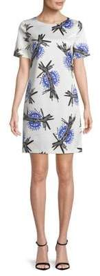 HUGO Kones Printed Short-Sleeve Dress