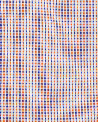 Bugatchi Classic Fit Grid-Print Cotton Dress Shirt