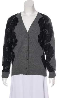 Lanvin Wool Button-Up Cardigan