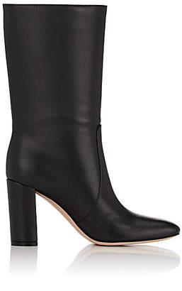 Gianvito Rossi Women's Leather Mid-Calf Boots - Black