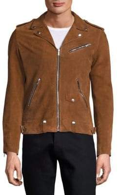 The Kooples Destroyed Suede Jacket