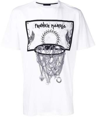 Frankie Morello basketball print T-shirt
