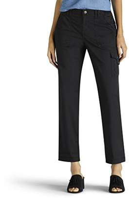 Lee Women's Relaxed Fit Santiago Knit Waist Capri Pant