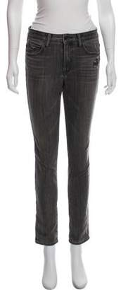 Helmut Lang Mid-Rise Straight-Leg Jeans w/ Tags