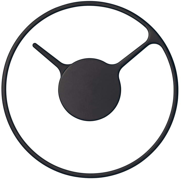 Time Wanduhr 22 cm, Schwarz