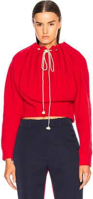 Calvin Klein Drawstring Neck Sweater