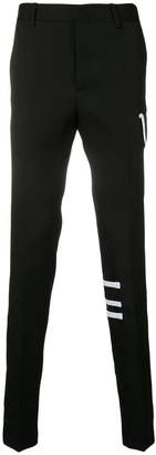 Calvin Klein contrast side pocket trousers