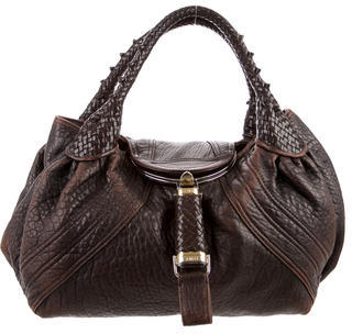 FendiFendi Leather Spy Bag