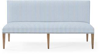 Serena & Lily Ross Dining Bench with Nailheads