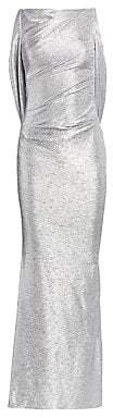 Talbot Runhof Women's Mirrorball Stretch Column Gown