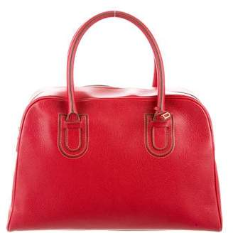 Delvaux Leather Handle Bag