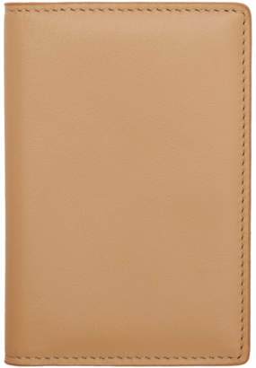 Common Projects Woman by Tan Folio Bifold Card Holder