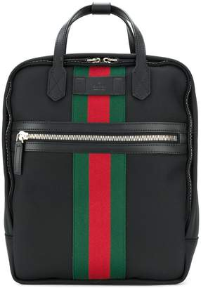 Gucci Web embellished backpack
