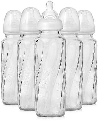 Evenflo Vented + Glass Bottle Clear - 8oz 6pk