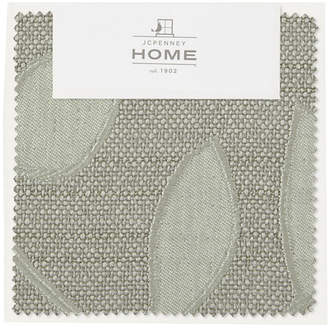 JCPenney JCP HOME HomeTM Quinn Leaf Swatch Card