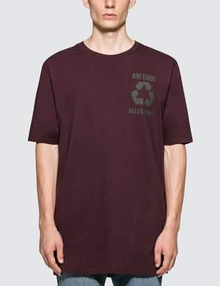Faith Connexion PR Oversized Burgundy S/S T-Shirt
