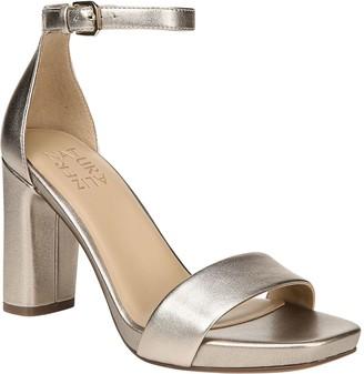 38498da10495 Naturalizer Gold Heeled Women s Sandals - ShopStyle