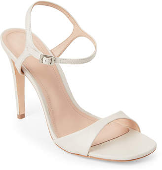 Schutz Pearl Jade Leather High Heel Sandals