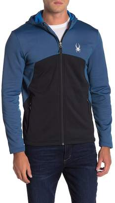 Spyder Hooded Front Zip Jacket