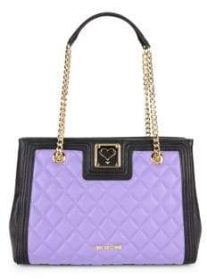 Love Moschino Quilted Chain Shoulder Bag