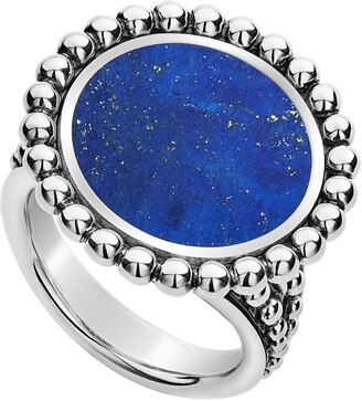 356403a74 Large Blue Stone Ring - ShopStyle
