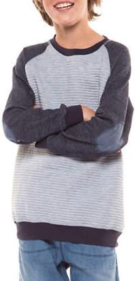 Dex Striped Raglan Pullover