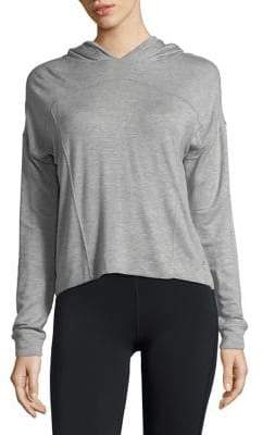 Andrew Marc Performance Cropped Hoodie