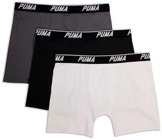 Puma 3 Pair Boxer Briefs