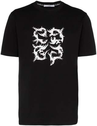Givenchy gothic G short sleeved T-shirt