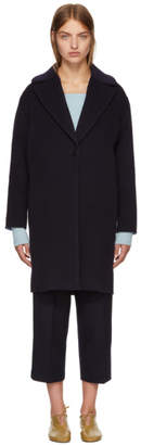 Cédric Charlier Black Wool Coat
