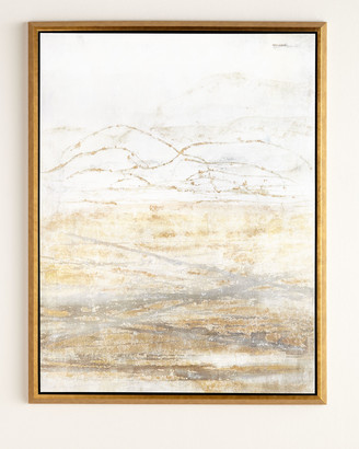 "Horchow ""Golden Horizon"" Giclee on Canvas Wall Art"