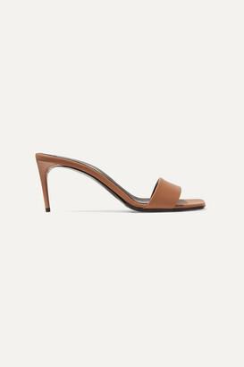 Stella McCartney + Net Sustain Faux Leather Mules - Tan