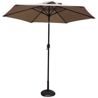 Oasis OUTDOOR Outdoor 9' Cranktilt Market Patio Umbrella