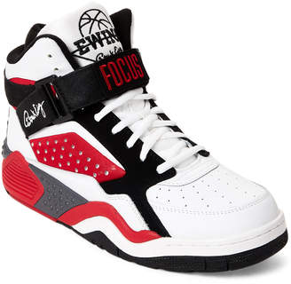 Replay Patrick Ewing White & Black Ewing Focus High-Top Sneakers