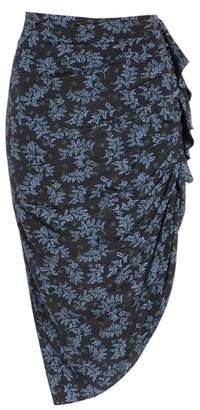 Veronica Beard Hazel Silk Skirt