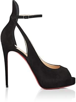 Christian Louboutin Women's Mascaralta Suede Platform Sandals