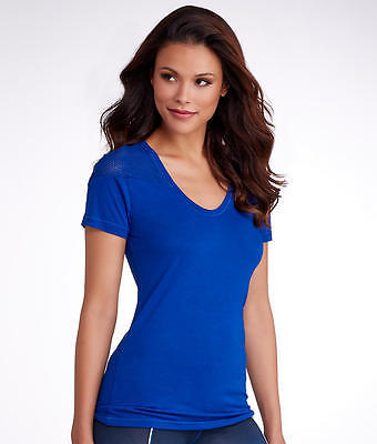 2(x)ist 2(x)ist Mesh Shoulder Jersey T-Shirt, Activewear - Women's