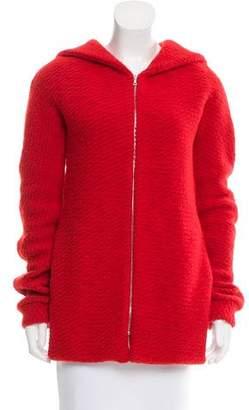 Thakoon Knit Hooded Jacket