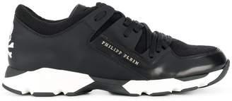 Philipp Plein panelled sneakers