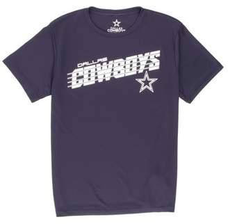 NFL Dallas Cowboys Boys Desmond Short Sleeve Performance Tee Shirt