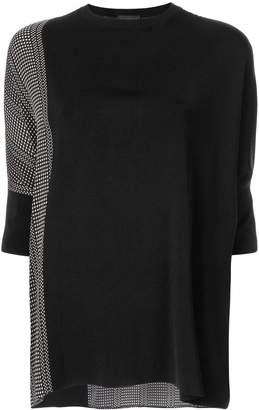 Anteprima rayon print jumper