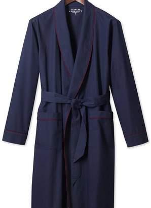 Charles Tyrwhitt Plain navy lightweight robe